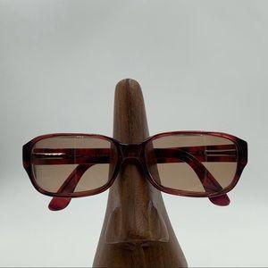 Vintage Oliver Peoples Purple Oval Sunglasses